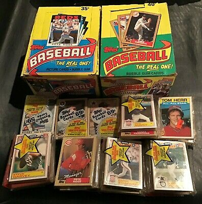 1986 - 1987 Topps Wax Box, Packs, Cello lot....Bonds, Maddux, Ryan, Ripken, HOF