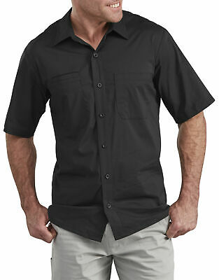 Dickies Mens Performance Cooling Woven Shirt Ss604