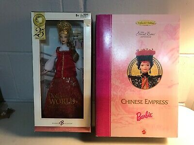 Barbie - Dolls Of The World - Princess Of Imperial Russia -  Great Eras Chinese