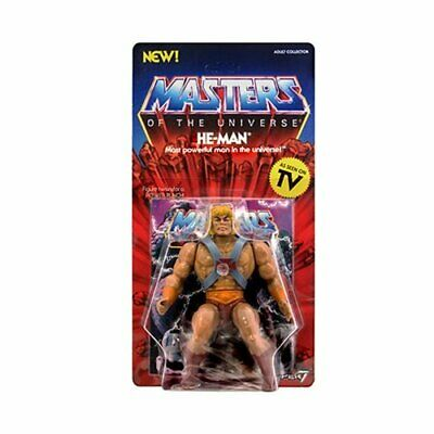 "MOTU HE-MAN. Masters of the Universe Vintage He-Man 5 1/2"" Action Figure. MINT."