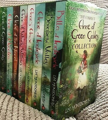 Complete Anne of Green Gables Collection 8 Books L.M. Montgomery - Brand New