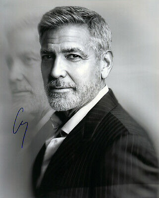 George Clooney Hand signed 8x10 photo w/COA