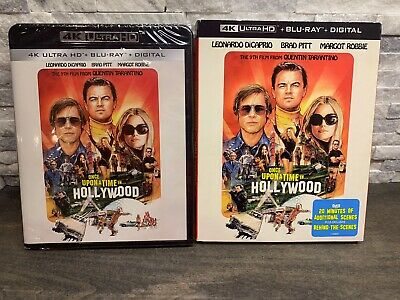 Once Upon A Time In Hollywood 4K Blu-ray And Digital Brand New With Slipcover