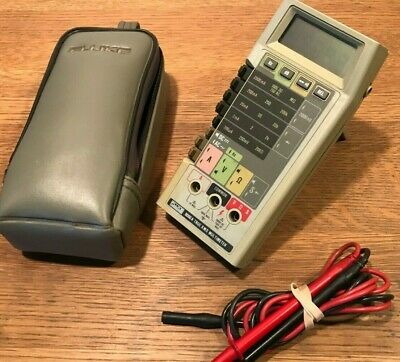 Fluke 8060a True RMS Multimeter With Case And Leads