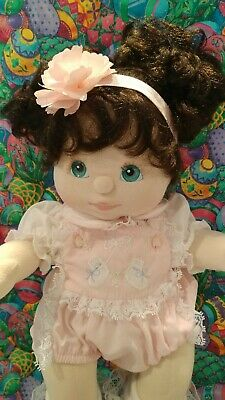 Pink Sun Suit Play Romper for My Child Sz Doll Lace Embroidered No Doll 2 piece