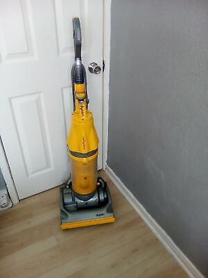 DYSON DC07  HEPA FILTER  CYCLONIC VACUUM YELLOW[listing actual dyson]