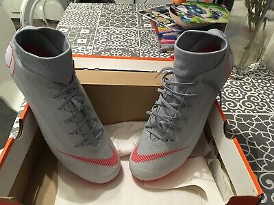 Nike mercurial superfly 6 academy mens football boots in grey size uk 11 - bnib