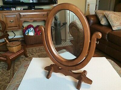 Tell City Chair Company Tilting Mirror Vanity Andover Finish