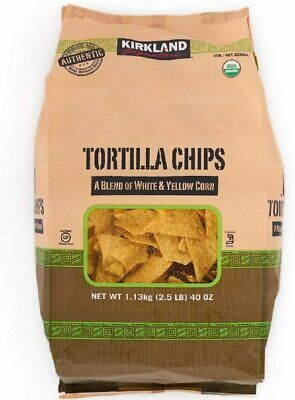 Kirkland Signature Tortilla Chips 1.3kg (Pack of 2) Hummus Recipe Included