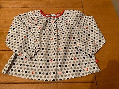 Little Girls Top Ladybird Design Sz 23mths (approx 18-24)