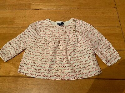 Beautiful Girls Gap Top Sz 12-18 Mths