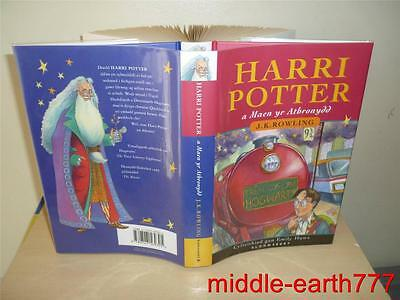 Harry Potter And The Philosopher's Stone (1/1) (Welsh) Language - New (Uk) Hb Dw