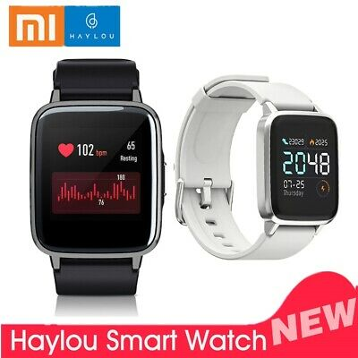 Global Version Xiaomi Haylou LS01 Smart Watch Heart Rate Fitness Tracker IP68