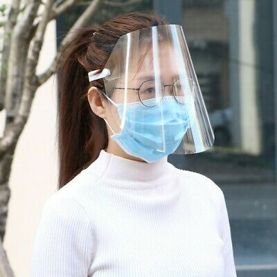 Full Face Safety Shield Tool Clear Glasses Eye Protection For Anti-Spit Saliva