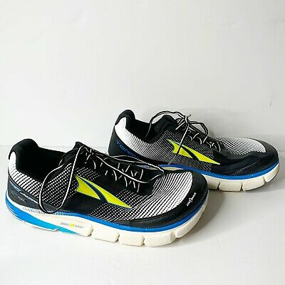 Altra Size 11 Mens Black White Blue Yellow Torin 2.5  Running Shoes A1634-4