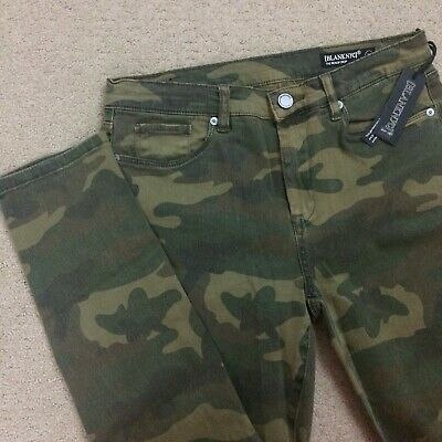 Blank NYC Womens 29 Camouflage The Reade Crop Skinny Jeans NWT $98