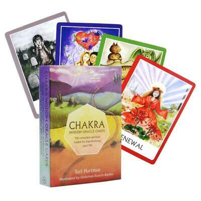 Chakra Wisdom Oracle Card Complete Spiritual Toolkit for Transforming Your Life.