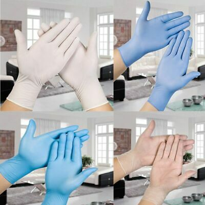 100PCS Disposable Gloves Protective Experimental Thickened Inspection Surgery