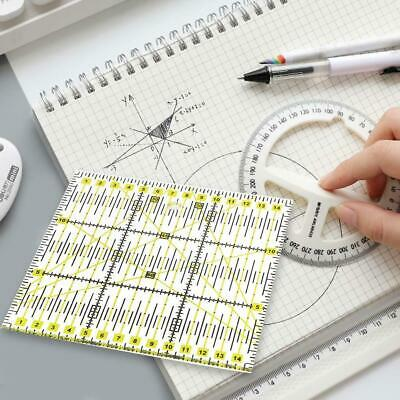 Quilting Ruler Sewing Patchwork Cutting Tool Acrylic Tools Mat Free Shipping