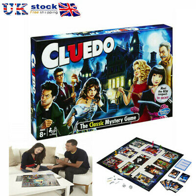 NEW The Classic Mystery Cluedo Board Game Perfect Family Party Game UK Seller