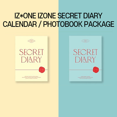 Iz*One Izone Secret Diary Calendar / Photobook Package / Keyring