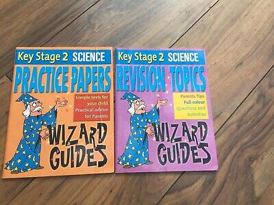Key Stage 2  Science Practice Papers & Revision Topics Wizard Guides