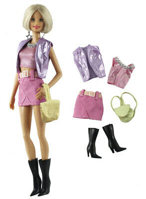 Doll #01 2 Pcs Set Fashion Outfit Top+skirt for 11.5 in