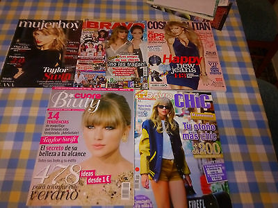 5 * Taylor Swift  Magazines Espagnoles