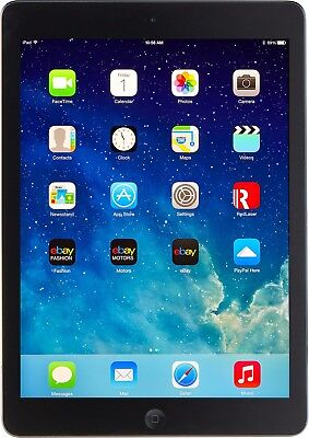 "Apple iPad Air 1st Gen 9.7"" MD785LL/A Black & Space Gray 16GB Special Sale"