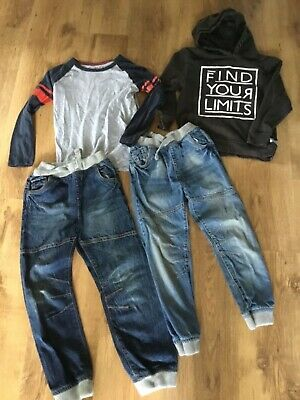 Bundle boys clothes, jeans and tops, age 6-7, handy wardrobe top ups