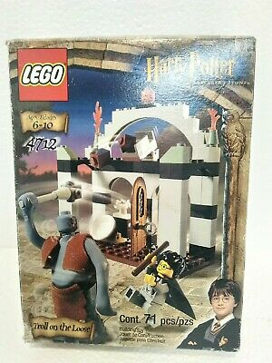 LEGO  4712 Harry Potter Sorcerer's Stone Troll on the Loose Brand New In Box