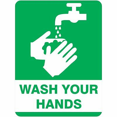 Bio Hazard Signs -  WASH YOUR HANDS