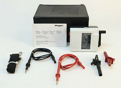 Megger WM6 Insulation and Continuity Tester