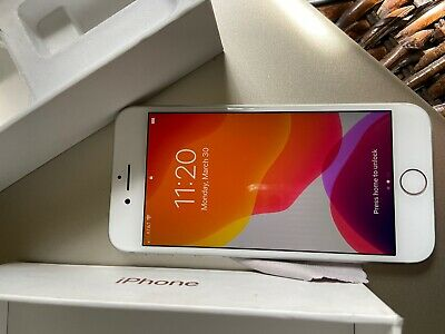 Apple iPhone 8-Silver-64gb AT&T/Cricket Good Condition (Clean IMEI)