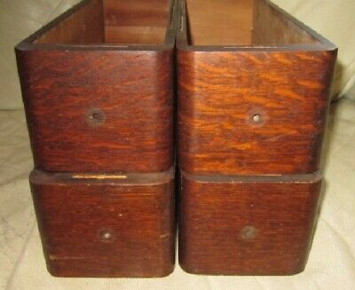 Four Vintage/Antique Wood Sewing Machine Cabinet Drawers – No Knobs
