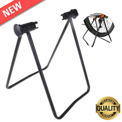 Bicycle Trainer Stationary Bike Cycle Stand Indoor Exercise Training Foldable Du