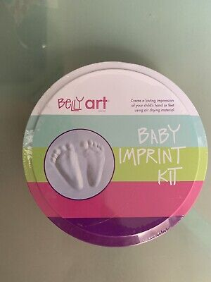 Bellyart Baby Hand Foot Print  Kit Baby Keepsake