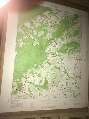 Arendtsville PA Adams Co USGS Topographical Geological Survey Quadrangle Map