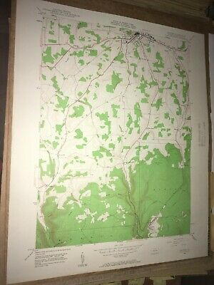 Antrim PA Tioga Co USGS Topographical Geological Survey Quadrangle Old Map