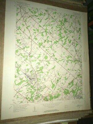 Ambler PA Montgomery Co USGS Topographical Geological Survey Quadrangle Old Map