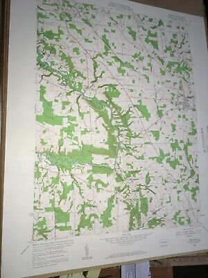 Fredonia PA Mercer County USGS Topographical Geological Quadrangle Topo Map