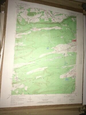 Conyngham PA Luzerne Co USGS Topographical Geological Survey Quadrangle Old Map