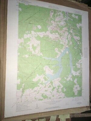 Coalport Pa. Clearfield Co USGS Topographical Geological Survey Quadrangle Map