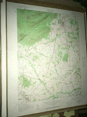 Dillsburg Pa. York County USGS Topographical Geological Survey Quadrangle Map