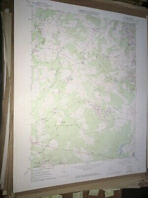 Colver PA Cambria County USGS Topographical Geological Survey Quadrangle Old Map