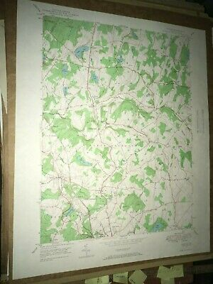 Dalton Pa. Lackawanna County USGS Topographical Geological Survey Quadrangle Map