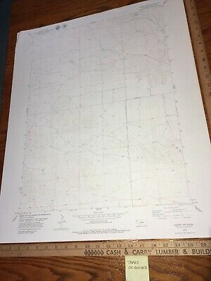 Agate NW NE 1979 USGS Topographical Geological Quadrangle Topo Map