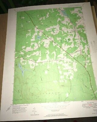 Moscow PA Lackawanna County Old USGS Topographical Geological Quadrangle Map