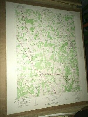 Mars PA Butler Co. Old USGS Topographical Geological Survey Quadrangle Map