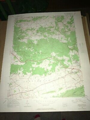 Morgantown PA Berks County Old USGS Topographical Geological Quadrangle Topo Map